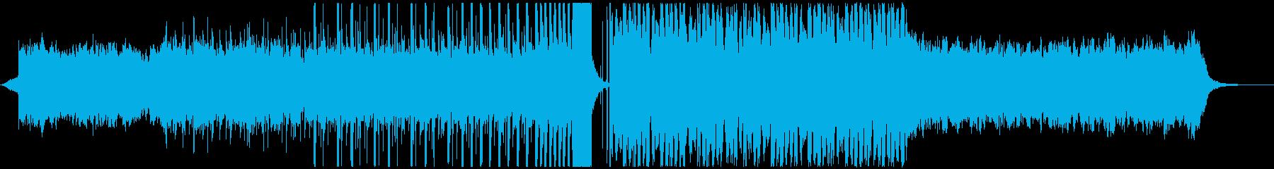 FuturePop2、お洒落、洋楽、夏Hの再生済みの波形
