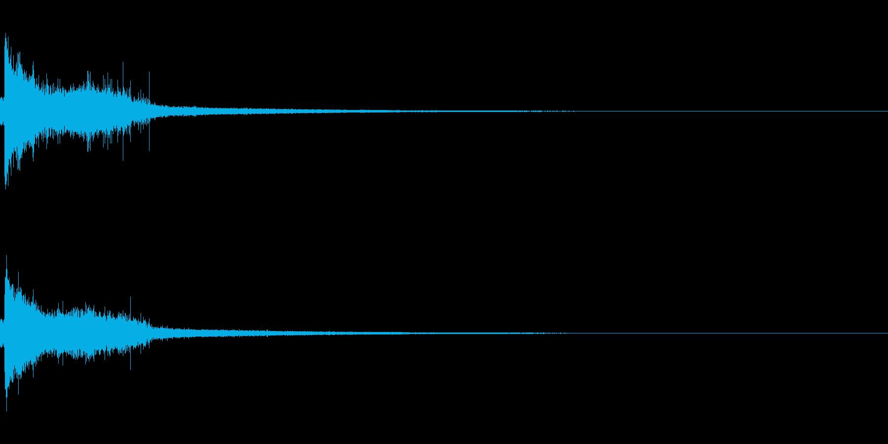 ぷしゅーっの再生済みの波形