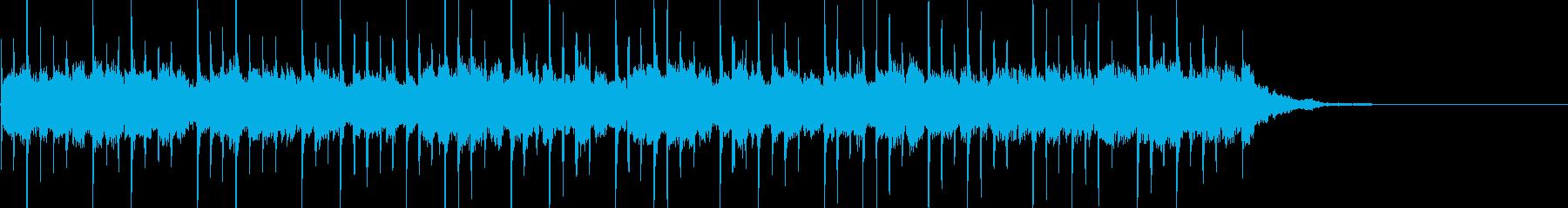 暗く重苦しいシンセサウンド 30秒の再生済みの波形