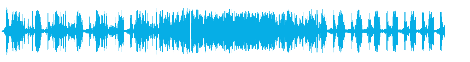 薄いスパッタ研削移行の再生済みの波形