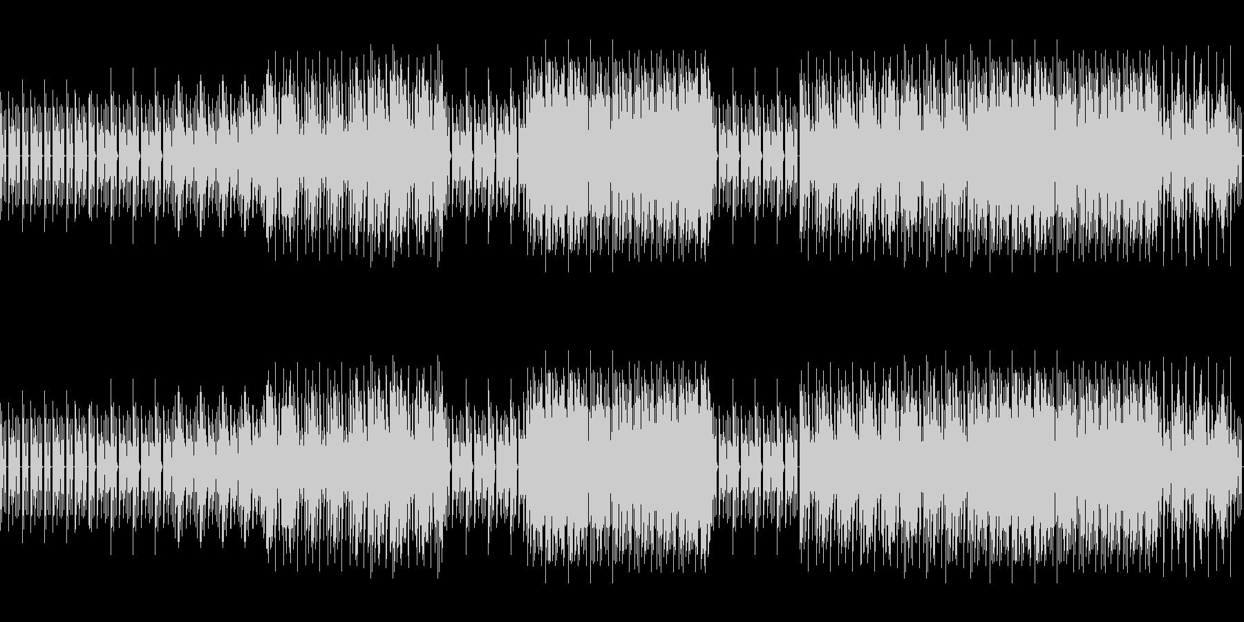 8ビットゲームサウンドBGM 01の未再生の波形