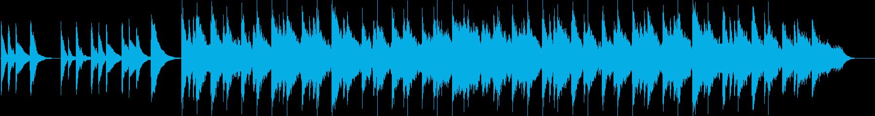 異国情緒溢れるワールドミュージックの再生済みの波形