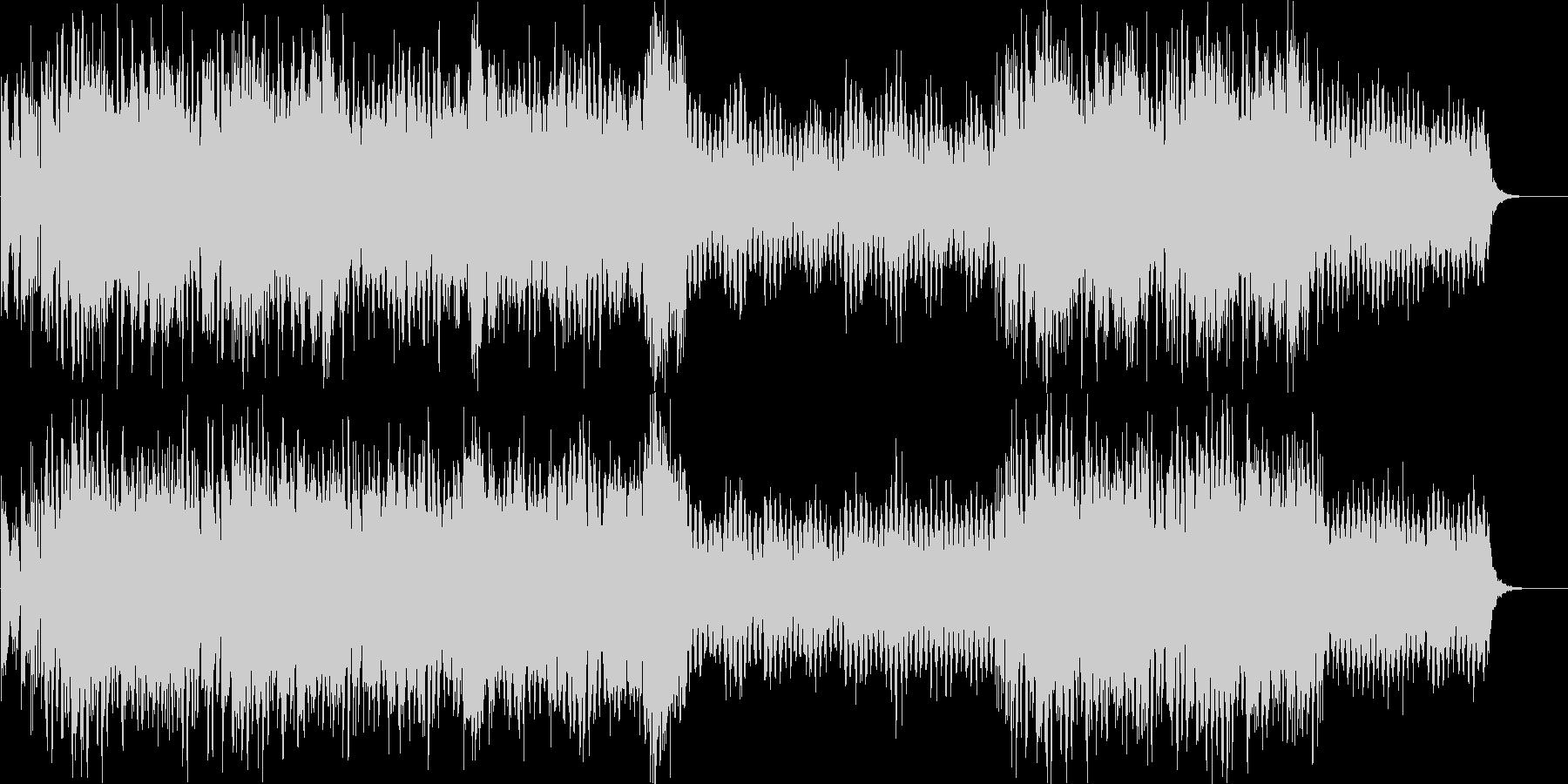 キラキラした明るい冬のBGMの未再生の波形