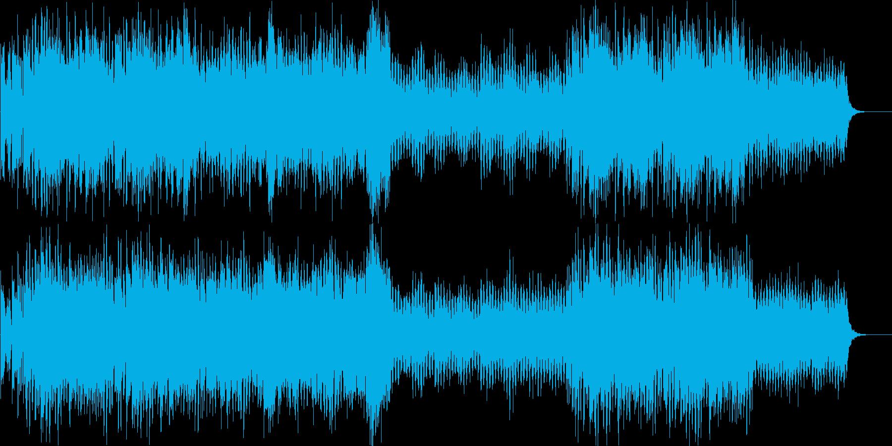 キラキラした明るい冬のBGMの再生済みの波形