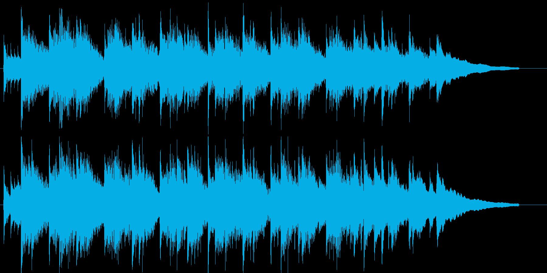 アコギ、明るい、感動、日常、CM30秒1の再生済みの波形