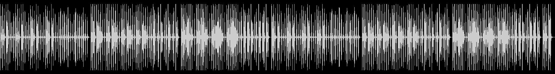 YouTube ピアノ・気だるいの未再生の波形