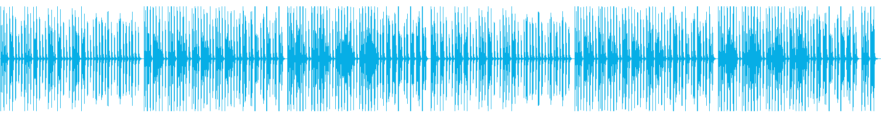YouTube ピアノ・気だるいの再生済みの波形