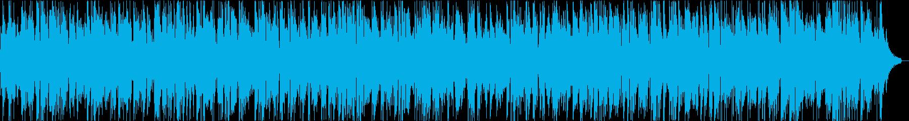 おしゃれサックス中心の都会的な洋楽R&Bの再生済みの波形