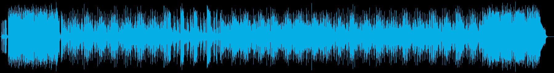 明るくにぎやかな現代的ポップスの再生済みの波形