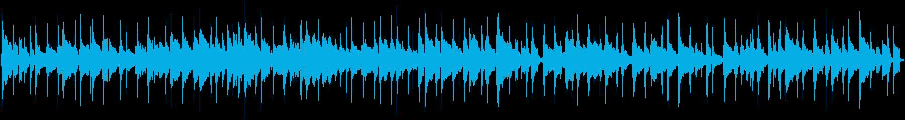 楽しく可愛いウクレレポップ(38秒の再生済みの波形