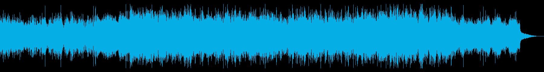 機械じかけのテクスチャーIDMの再生済みの波形