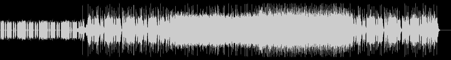 凶悪な重低音リフのメタル・コアの未再生の波形