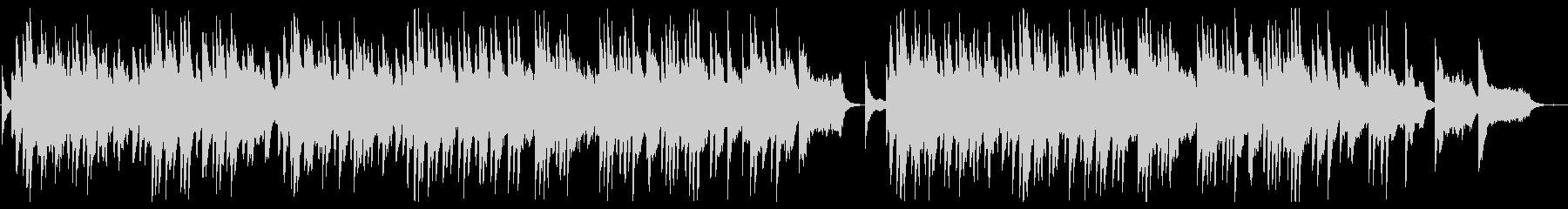 Sad and sad piano slowball's unreproduced waveform