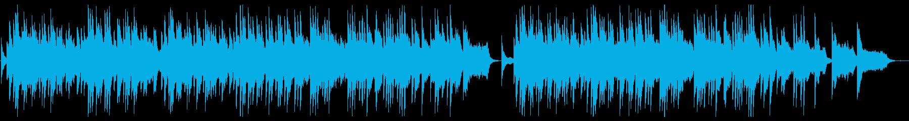 Sad and sad piano slowball's reproduced waveform