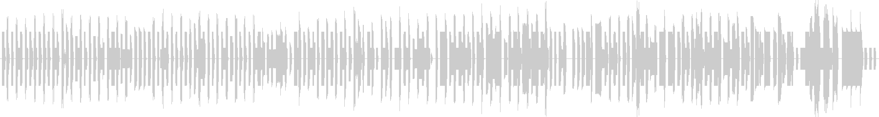 80年代のアーケードゲーム風の音楽ですの未再生の波形