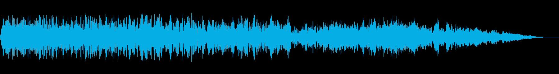 ザップリコシェットの再生済みの波形
