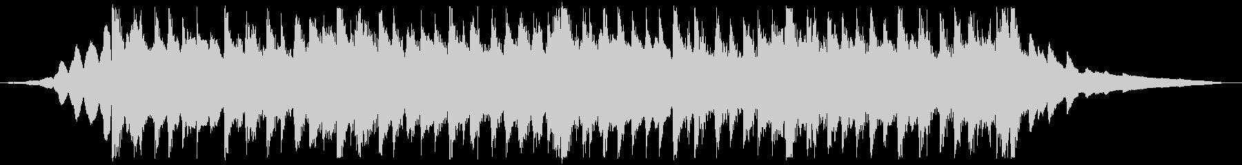 CM用22秒、次世代、スタイリッシュ製品の未再生の波形