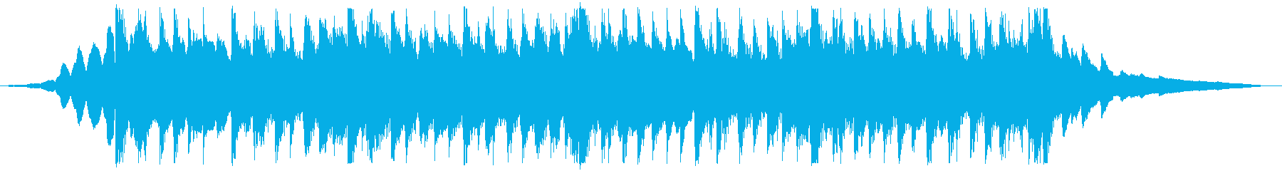 CM用22秒、次世代、スタイリッシュ製品の再生済みの波形