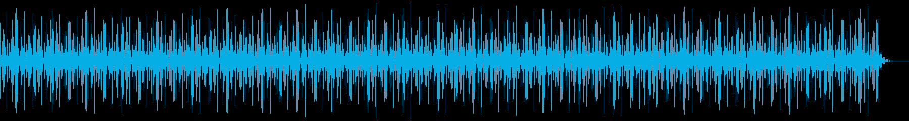 [ニュース報道]無機質:フラット:02の再生済みの波形