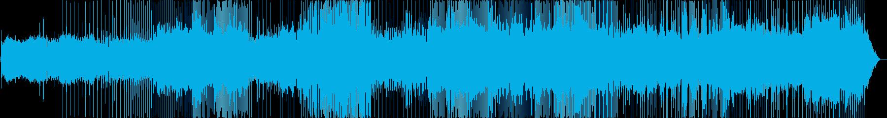 和楽器が美しい、パッフェルベル:カノンの再生済みの波形