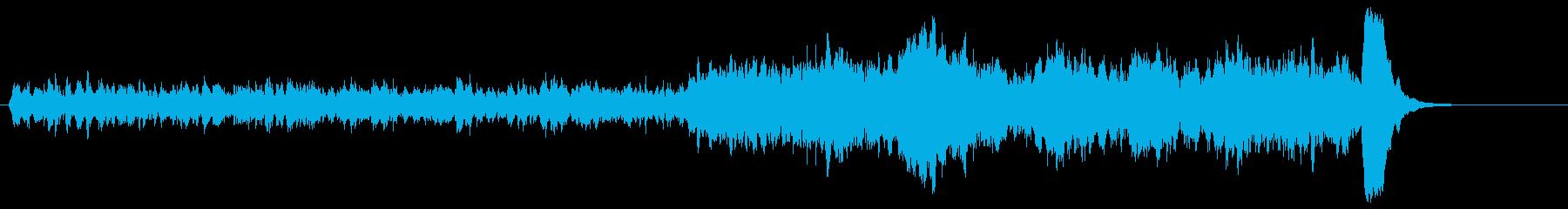d悲劇的で緊迫したストリングス 30秒の再生済みの波形