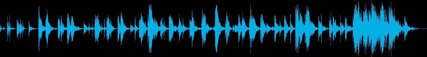 ピアノ♪宿命に生きる感動ドキュメンタリーの再生済みの波形