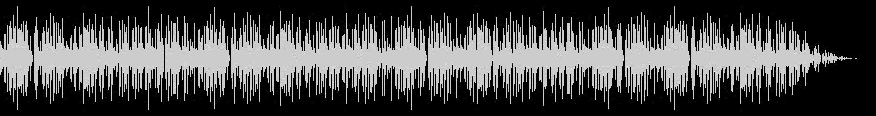 GB風パズル・カードゲームのリザルト曲の未再生の波形