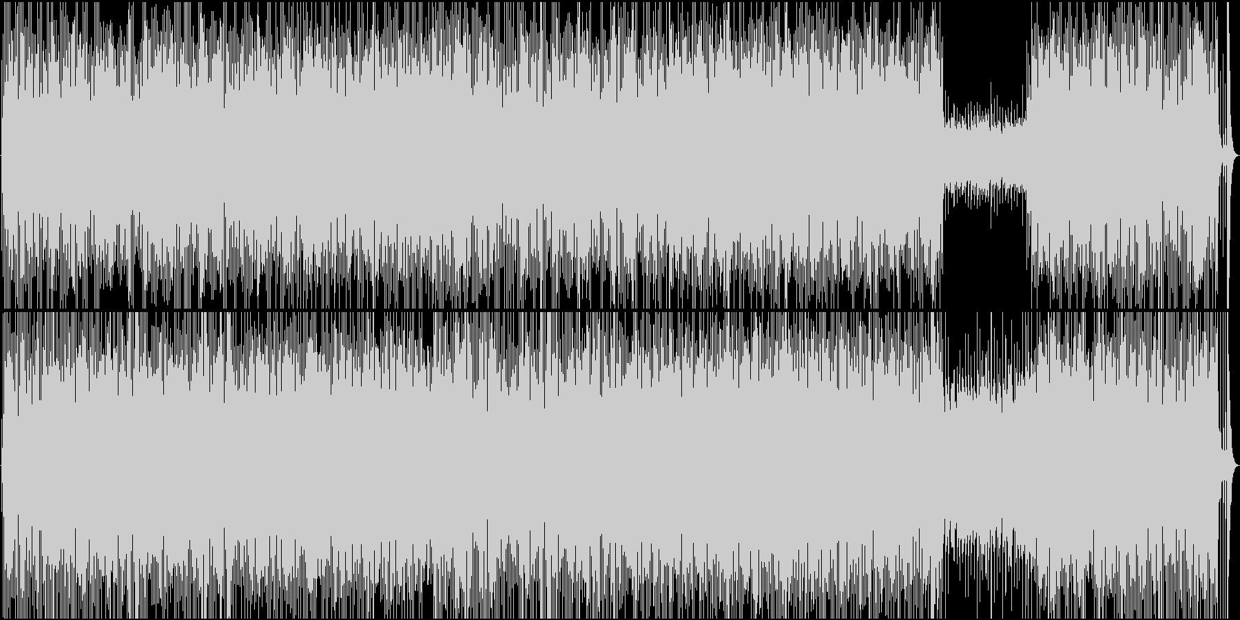 モータウン+ゴスペル+アイドルポップの未再生の波形