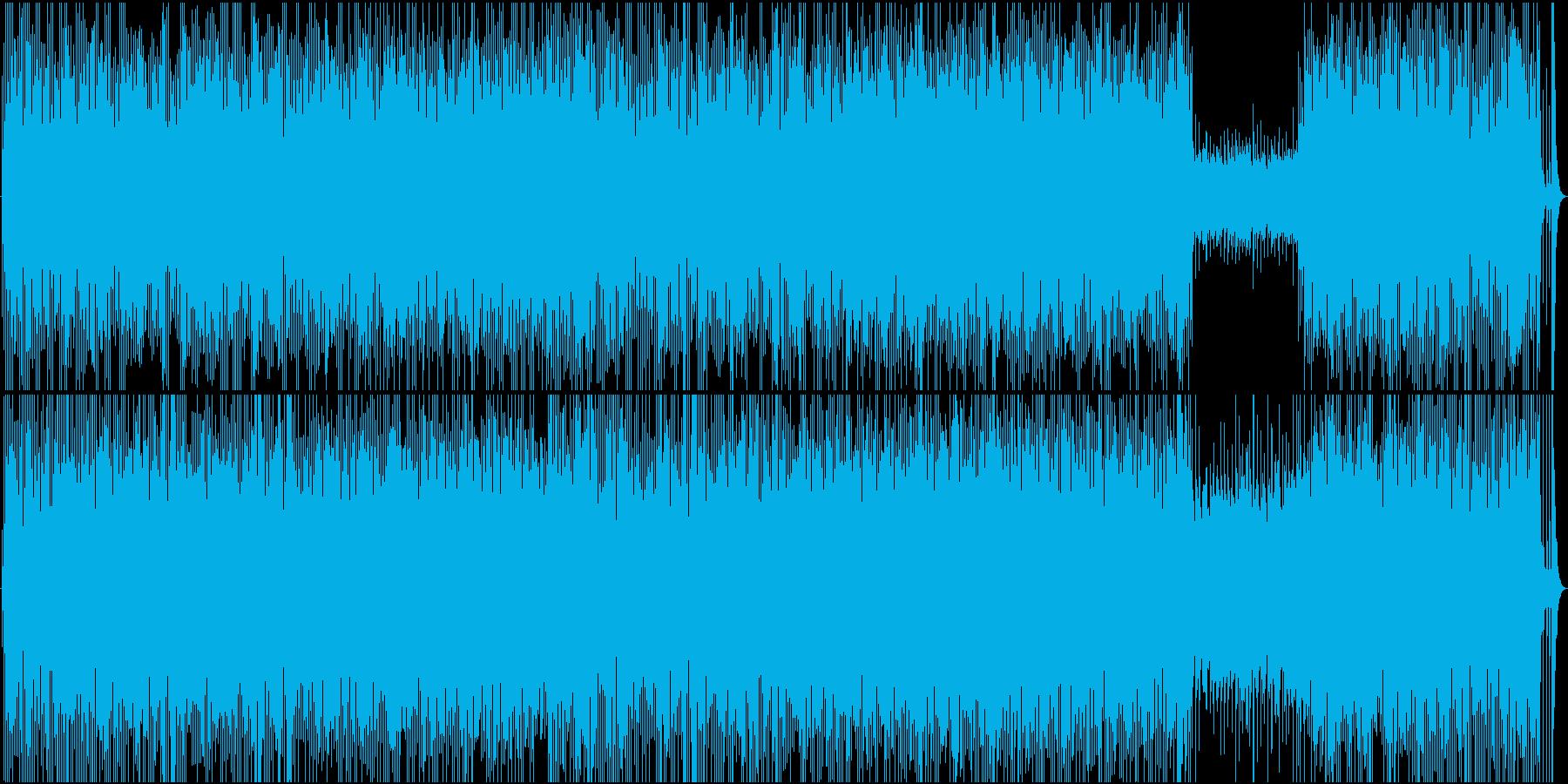 モータウン+ゴスペル+アイドルポップの再生済みの波形