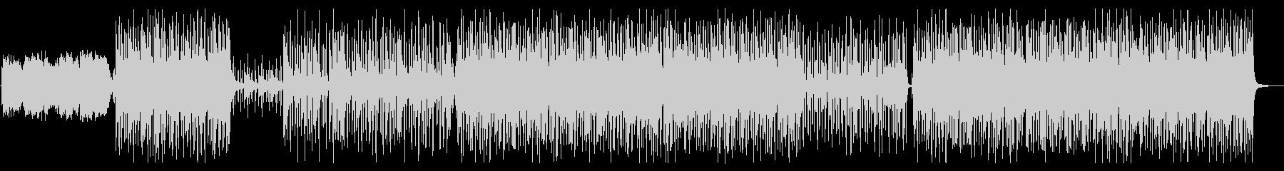 スタイリッシュなRnBエフェクト無の未再生の波形