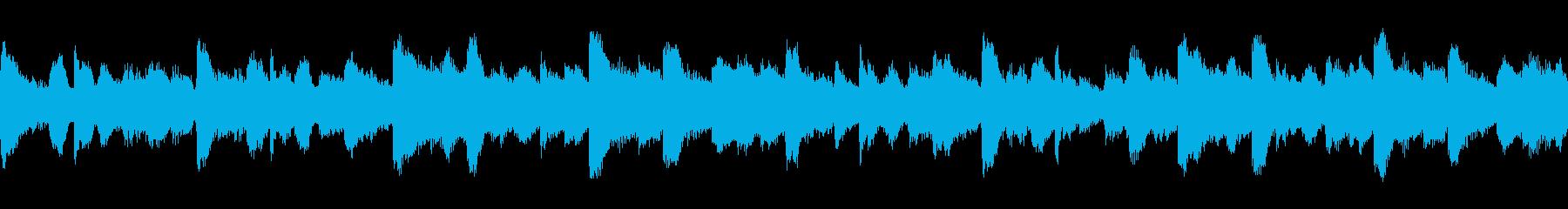 幻想的で落ち着いたアンビエント2 ループの再生済みの波形