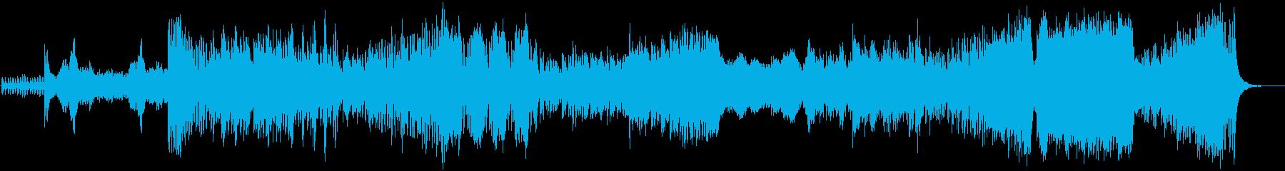 緊張感のあるアップテンポなオーケストラ改の再生済みの波形