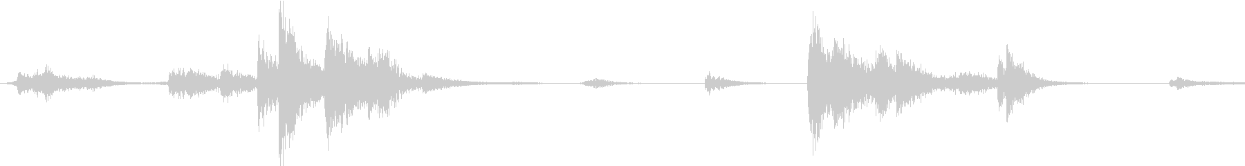 【生録音】装備品の音 金属 武器 11の未再生の波形