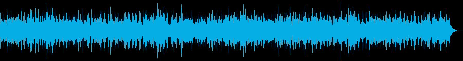 アイリッシュ民謡風バラードの再生済みの波形