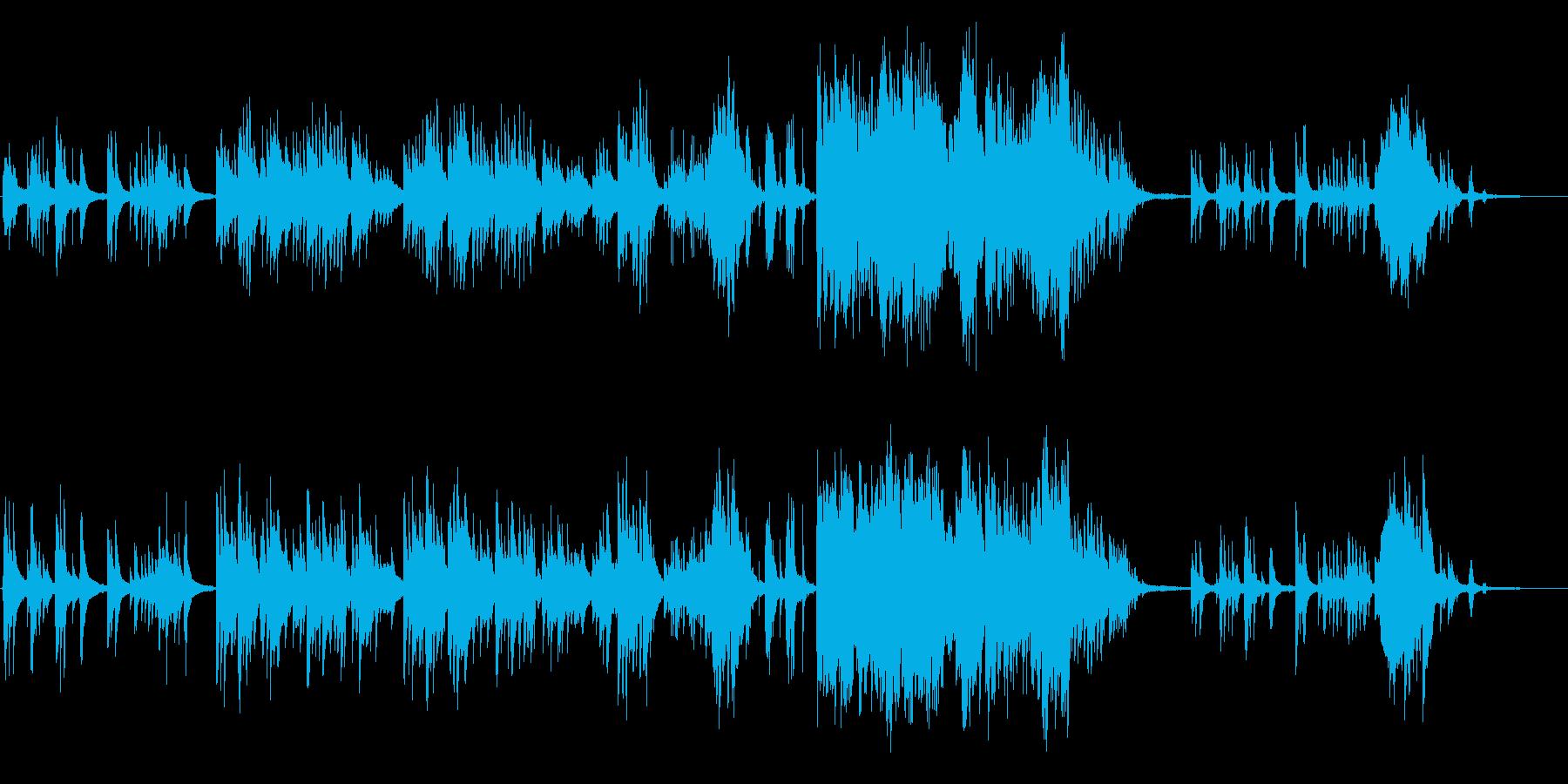 生ピアノで奏でる美しい日本の歌:赤とんぼの再生済みの波形