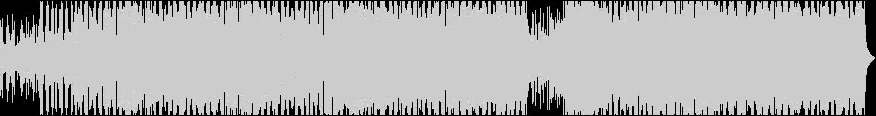 フルートソロのハウストラックの未再生の波形