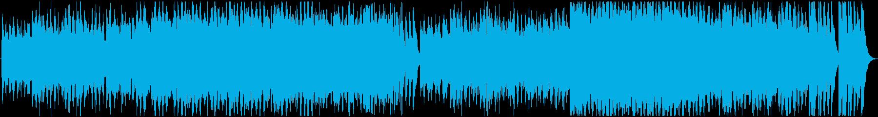 現代的 交響曲 ドラマチック 可愛...の再生済みの波形