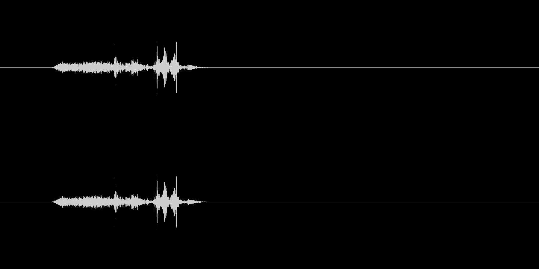 【本02-1(めくる)】の未再生の波形
