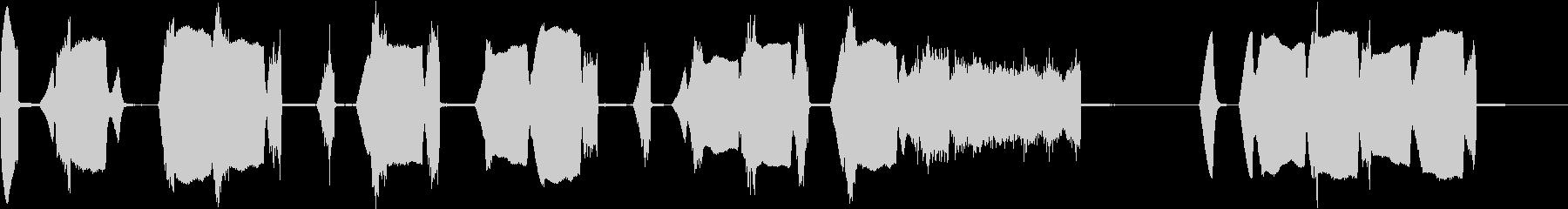 ゆる可愛いハッピーバースデートゥーユーの未再生の波形