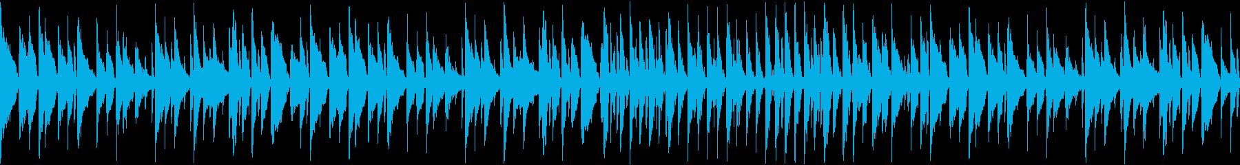 あのクリスマスの名曲をジャズで4(ループの再生済みの波形