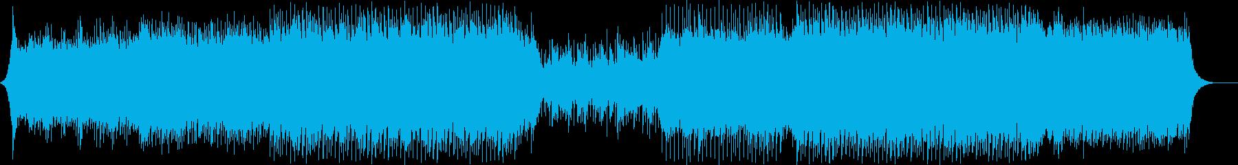 ポップ テクノ 未来 テクノロジー...の再生済みの波形