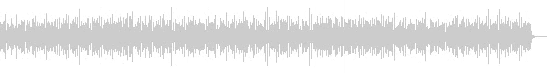 ヘッドラインニュースBGM/シンセ系音色の未再生の波形