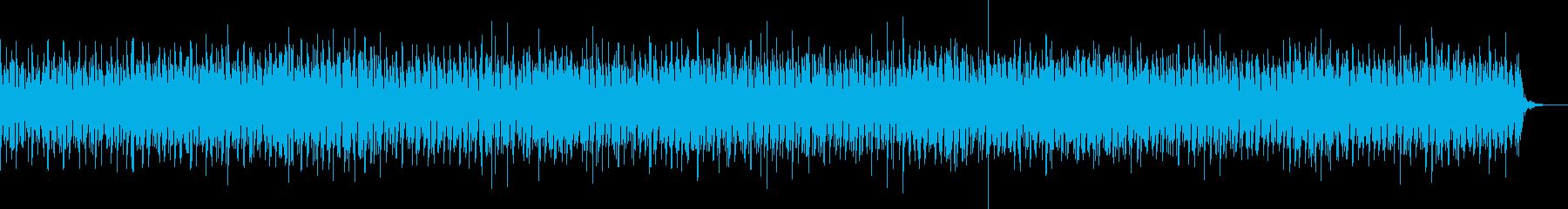 ヘッドラインニュースBGM/シンセ系音色の再生済みの波形