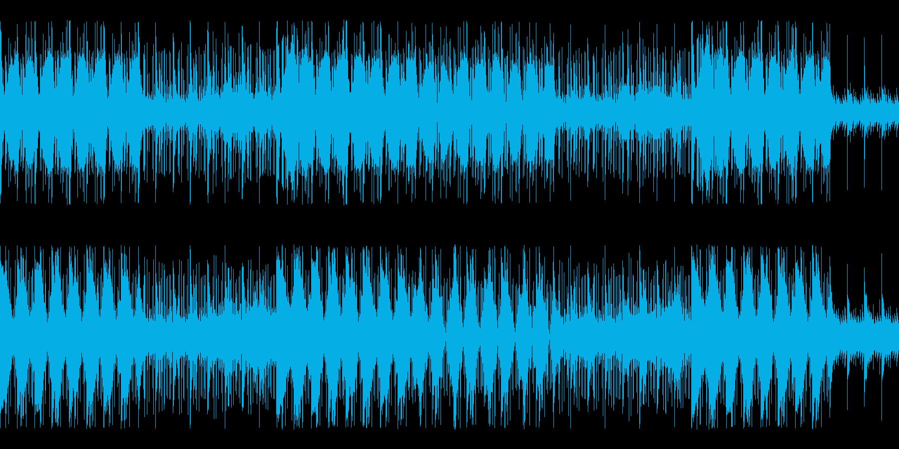 不気味な恐怖が迫る和製ホラー ループ仕様の再生済みの波形