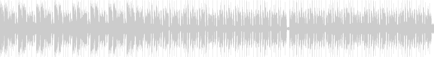 おまぬけコミカル/ループ/イントロ16秒の未再生の波形
