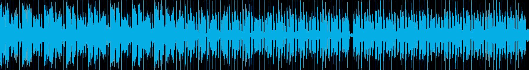 おまぬけコミカル/ループ/イントロ16秒の再生済みの波形