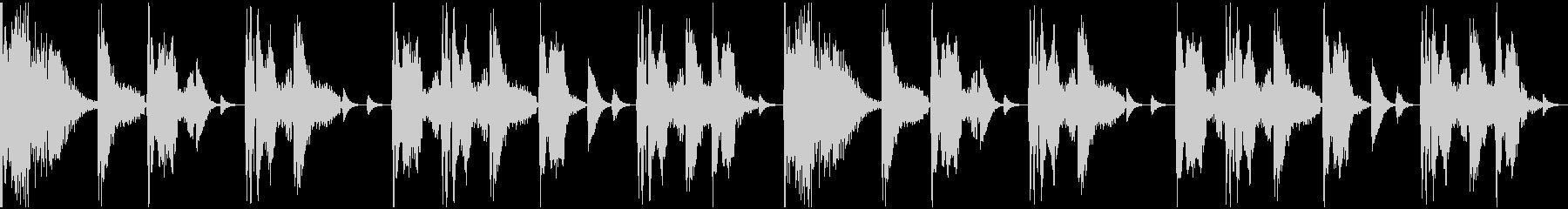 【エレクトロニカ】ロング3、ショート5の未再生の波形