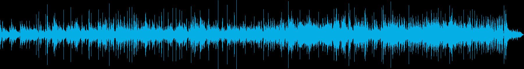 生ギター ゆるいスイートジャズブルースの再生済みの波形
