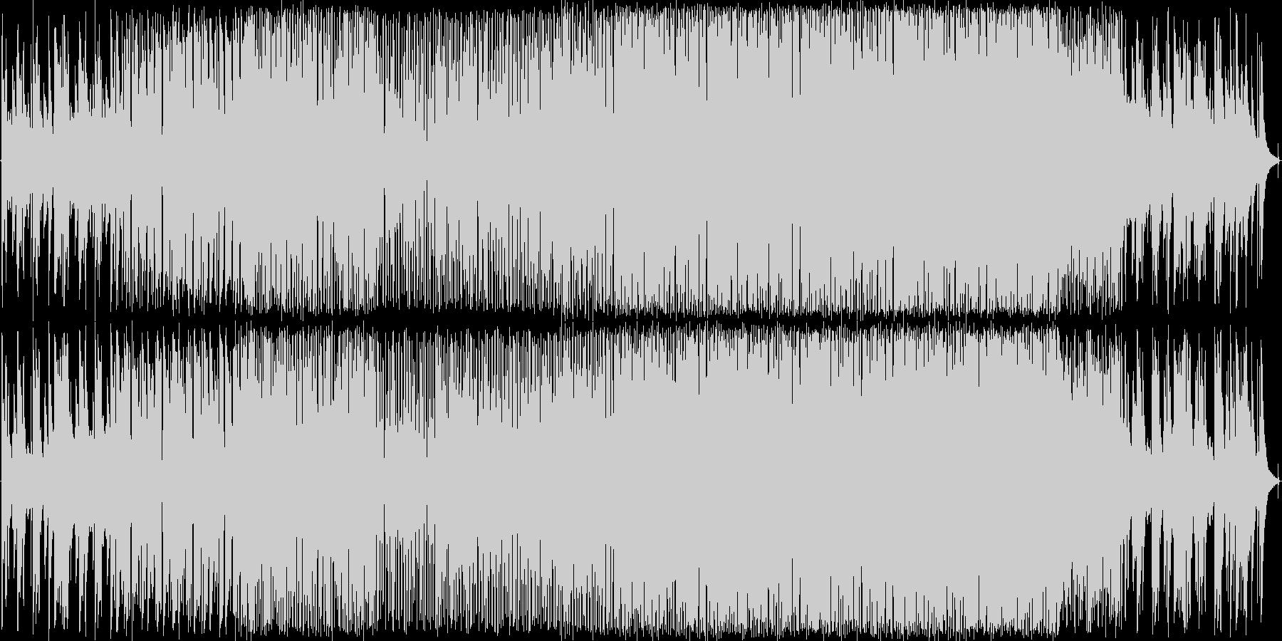 Latin 楽しげ クール 感情的...の未再生の波形