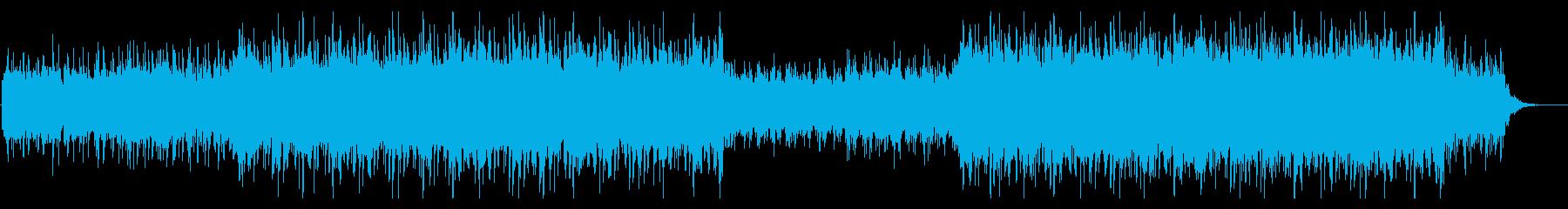 クールでややシリアスなアンビエントEDMの再生済みの波形